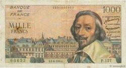1000 Francs RICHELIEU FRANCE  1955 F.42.14 TB+