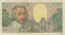 1000 Francs RICHELIEU FRANCE  1955 F.42.14 TB