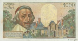 1000 Francs RICHELIEU FRANCE  1955 F.42.16 TTB