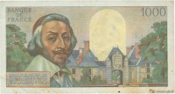 1000 Francs RICHELIEU FRANCE  1956 F.42.21 TTB