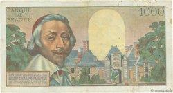 1000 Francs RICHELIEU FRANCE  1956 F.42.22 TB+