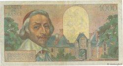 1000 Francs RICHELIEU FRANCE  1956 F.42.22 B+