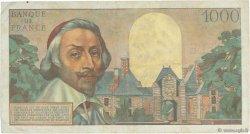 1000 Francs RICHELIEU FRANCE  1956 F.42.24 pr.TTB
