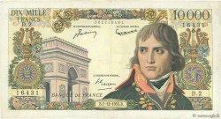 10000 Francs BONAPARTE FRANCE  1955 F.51.01 B+