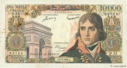 10000 Francs BONAPARTE FRANCE  1956 F.51.04 TB+