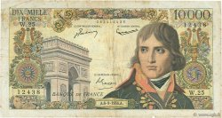 10000 Francs BONAPARTE FRANCE  1956 F.51.04 B