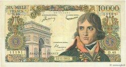 10000 Francs BONAPARTE FRANCE  1956 F.51.05 TTB+