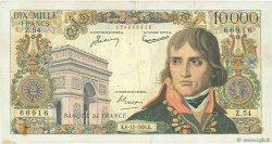 10000 Francs BONAPARTE FRANCE  1956 F.51.06 pr.TB