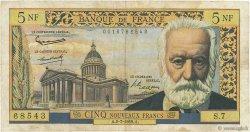 5 Nouveaux Francs VICTOR HUGO FRANCE  1959 F.56.02 pr.TB