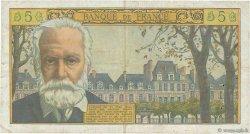 5 Nouveaux Francs VICTOR HUGO FRANCE  1959 F.56.02 TB