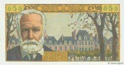 5 Nouveaux Francs VICTOR HUGO FRANCE  1959 F.56.02 SUP