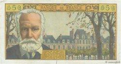 5 Nouveaux Francs VICTOR HUGO FRANCE  1959 F.56.02 TTB