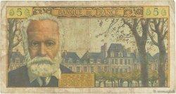 5 Nouveaux Francs VICTOR HUGO FRANCE  1959 F.56.03 B