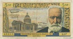 5 Nouveaux Francs VICTOR HUGO FRANCE  1961 F.56.06 B+