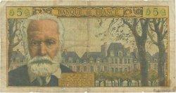 5 Nouveaux Francs VICTOR HUGO FRANCE  1961 F.56.08 AB