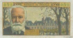 5 Nouveaux Francs VICTOR HUGO FRANCE  1961 F.56.09 TB+