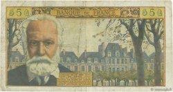 5 Nouveaux Francs VICTOR HUGO FRANCE  1961 F.56.09 B+