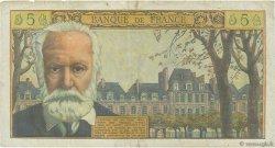 5 Nouveaux Francs VICTOR HUGO FRANCE  1961 F.56.09 pr.TTB