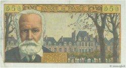 5 Nouveaux Francs VICTOR HUGO FRANCE  1961 F.56.09 TTB+