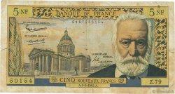 5 Nouveaux Francs VICTOR HUGO FRANCE  1962 F.56.11 B