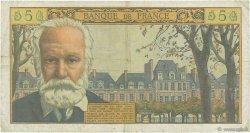 5 Nouveaux Francs VICTOR HUGO FRANCE  1962 F.56.11 TB