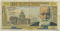 5 Nouveaux Francs VICTOR HUGO FRANCE  1963 F.56.13 B
