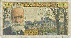 5 Nouveaux Francs VICTOR HUGO FRANCE  1963 F.56.14 TB
