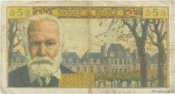 5 Nouveaux Francs VICTOR HUGO FRANCE  1965 F.56.18 B