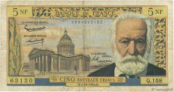5 Nouveaux Francs VICTOR HUGO FRANCE  1965 F.56.20 B