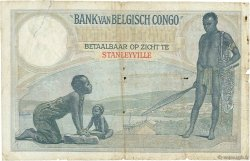 100 Francs CONGO BELGE  1927 P.11e B