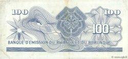 100 Francs BURUNDI  1964 P.05 TTB+