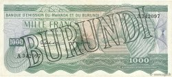 1000 Francs BURUNDI  1964 P.07 TTB+