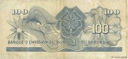 100 Francs RWANDA  1962 P.03a pr.TTB