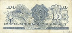 100 Francs RWANDA BURUNDI  1960 P.05a TTB