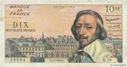 10 Nouveaux Francs RICHELIEU FRANCE  1959 F.57.02 TTB