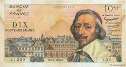 10 Nouveaux Francs RICHELIEU FRANCE  1959 F.57.02 TB