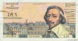 10 Nouveaux Francs RICHELIEU FRANCE  1959 F.57.03 TB+