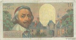 10 Nouveaux Francs RICHELIEU FRANCE  1960 F.57.08 TB