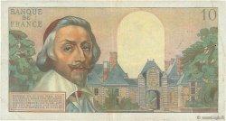 10 Nouveaux Francs RICHELIEU FRANCE  1960 F.57.12 pr.TTB