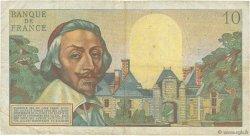 10 Nouveaux Francs RICHELIEU FRANCE  1961 F.57.13 TB