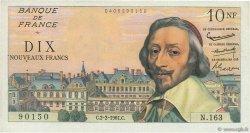 10 Nouveaux Francs RICHELIEU FRANCE  1961 F.57.14 TTB
