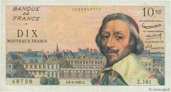 10 Nouveaux Francs RICHELIEU FRANCE  1961 F.57.15 TTB