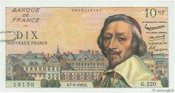 10 Nouveaux Francs RICHELIEU FRANCE  1962 F.57.19 pr.SUP