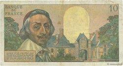 10 Nouveaux Francs RICHELIEU FRANCE  1962 F.57.19 B+