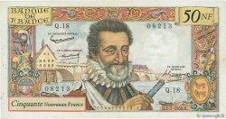50 Nouveaux Francs HENRI IV FRANCE  1959 F.58.02 TTB
