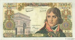 100 Nouveaux Francs BONAPARTE FRANCE  1959 F.59.02 TB+
