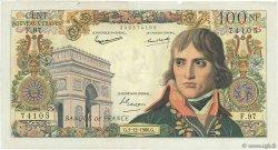 100 Nouveaux Francs BONAPARTE FRANCE  1960 F.59.09 TB+