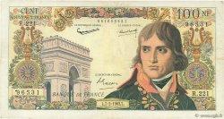 100 Nouveaux Francs BONAPARTE FRANCE  1963 F.59.19 TB