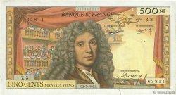 500 Nouveaux Francs MOLIÈRE FRANCE  1959 F.60.01 TTB