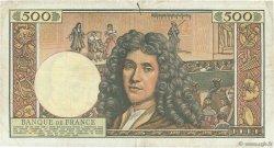 500 Nouveaux Francs MOLIÈRE FRANCE  1961 F.60.03 TB